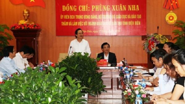 Tháo gỡ khó khăn Giáo dục tỉnh Điện Biên