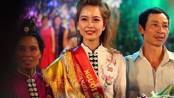 Vượt qua 17 thí sinh, thiếu nữ Lò Thị Vui đăng quang cuộc thi Người đẹp Hoa Ban 2019