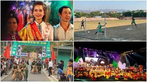 Cùng nhìn lại loạt hoạt động đáng nhớ tại Lễ hội Hoa Ban 2019 thu hút hàng vạn du khách tới Điện Biên