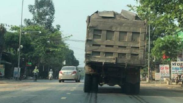 Ngán ngẩm tình trạng xe cơi nới thùng, thành vẫn tung hoành ở Hòa Bình