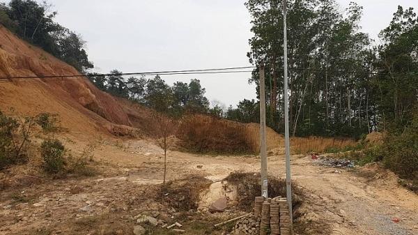 """Dự án """"xẻ đồi xây trường"""" ở TP Điện Biên Phủ: Công ty Ánh Tuyết ngang nhiên hủ.y hoại tài sản công dân?"""