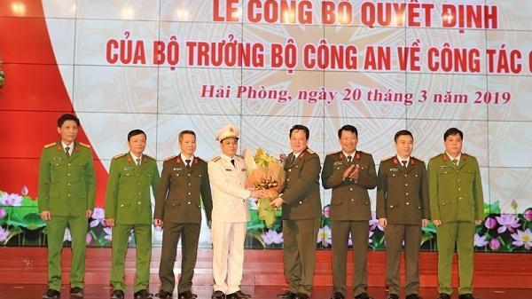 Phó tư lệnh bộ Tư lệnh Cảnh s.át cơ động về làm Giám đốc Công an TP.Hải Phòng