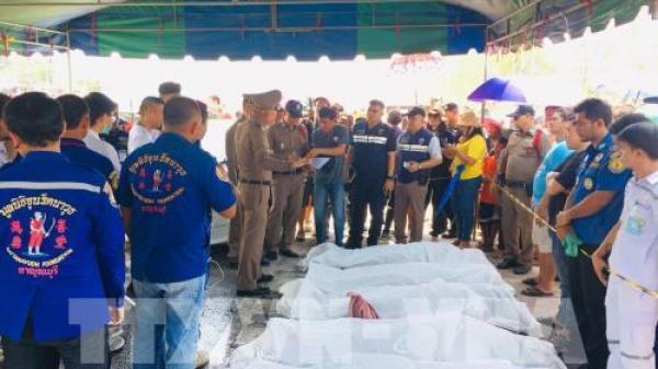 5 người Việt t.ử vong trong vụ tai n.ạn thảm khốc ở Thái Lan