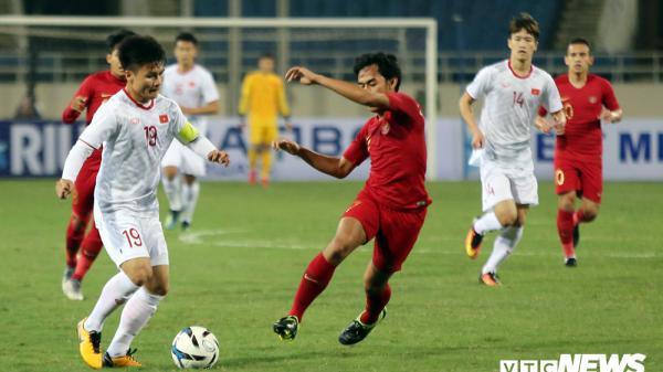 Ghi bàn giây cuối, U23 Việt Nam thắng nghẹt thở Indonesia