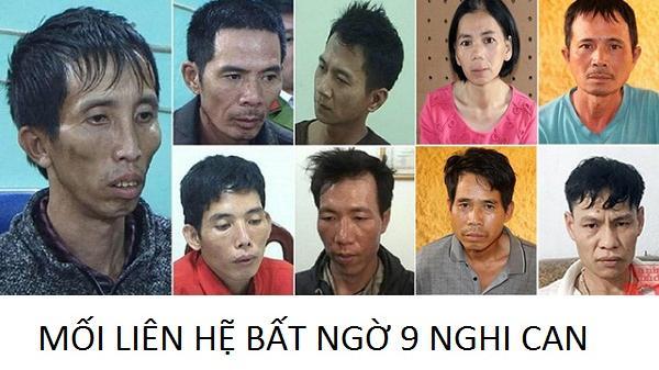 Giật mình mối liên hệ của 9 nghi phạm trong vụ nữ sinh giao gà bị giam giữ, hãm h.iếp rồi s.át hại