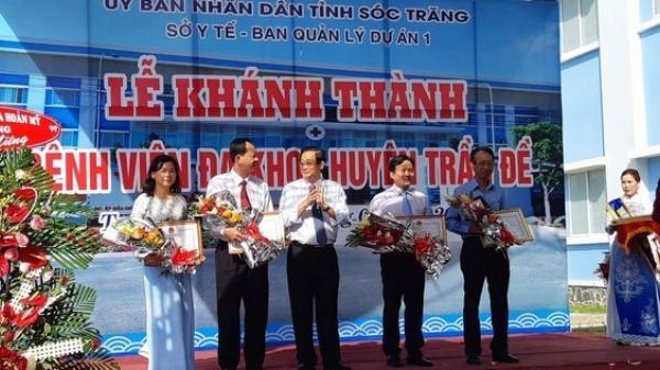 Sóc Trăng: Vietcombank tài trợ 25 tỷ đồng xây bệnh viện tại Trần Đề