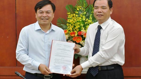Quyết định bổ nhiệm ông Nguyễn Hoàng Hiệp làm Thứ trưởng Bộ NN&PTNT