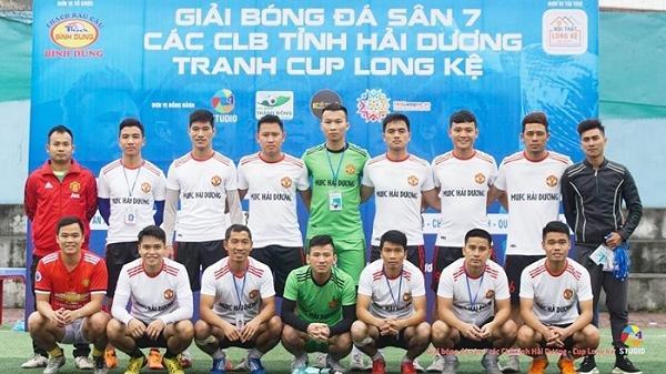 Giải bóng đá sân 7 người các câu lạc bộ tỉnh Hải Dương: Xác định 4 đội vào bán kết
