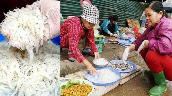 Cá ngần - đặc sản nổi tiếng ở Hòa Bình vừa bán đã cháy hàng