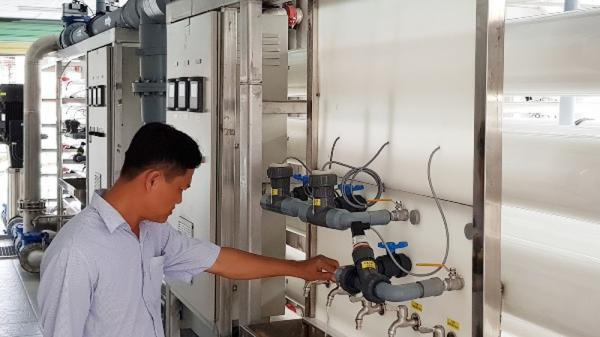 Sóc Trăng: Vận hành nhà máy xử lý nước mặn thành nước ngọt