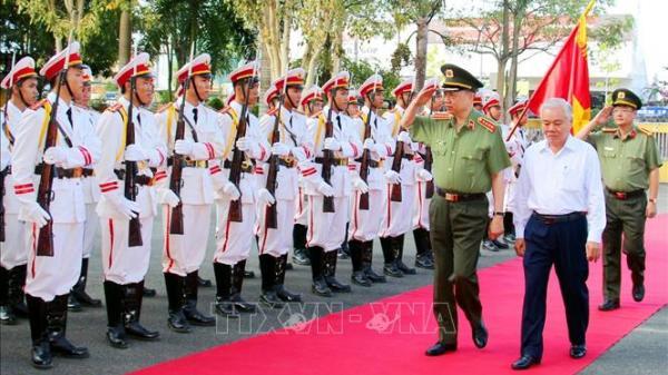 Đại tướng Tô Lâm, Bộ trưởng Bộ Công an làm việc tại Sóc Trăng