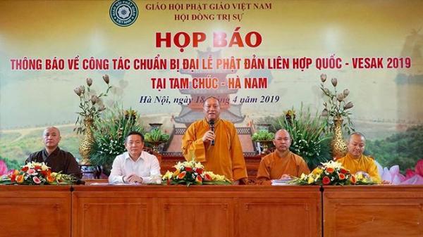 Việt Nam đã sẵn sàng cho Đại lễ Phật đản Liên Hợp Quốc Vesak 2019