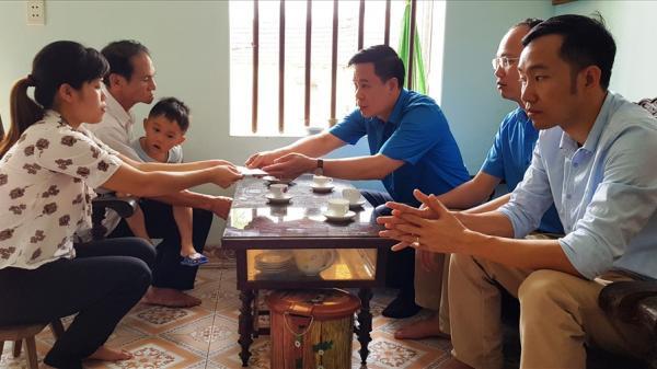 Ninh Bình: Thăm hỏi gia đình công nhân tử vong do tai nạn lao động