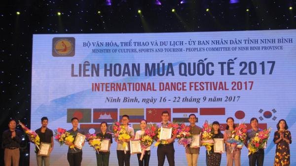 Việt Nam giành 4 huy chương vàng tại Liên hoan múa quốc tế 2017