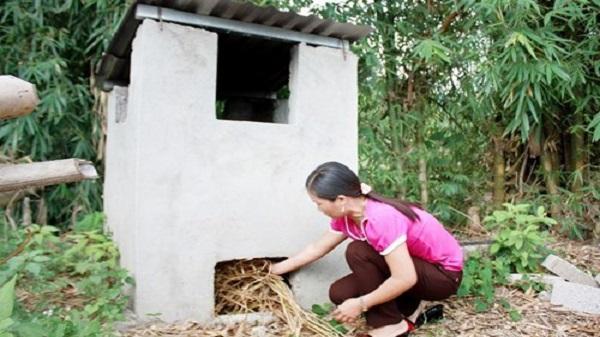 Hiệu quả mô hình lò đốt rác ở xã Xích Thổ, huyện Nho Quan