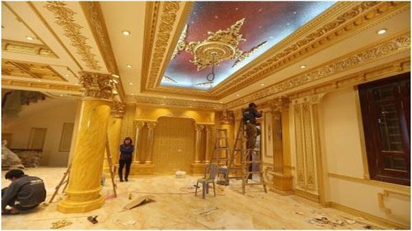 Cận cảnh tòa lâu đài song sinh 1500 tỉ đồng với nội thất dát vàng ở Ninh Bình