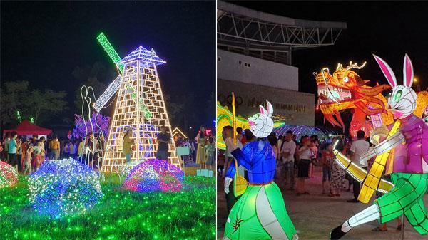 Lần đầu tiên tại Ninh Bình: Siêu trình chiếu lễ hội ánh sáng kết hợp lễ hội đèn lồng cực hoành tráng