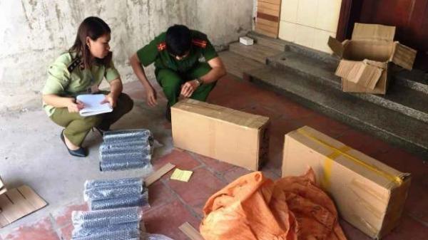 Bắc Giang: Bắt giữ 3 vụ vận chuyển hàng hóa không rõ nguồn gốc