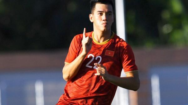 Tiến Linh lập hat-trick giúp U22 Việt Nam thắng Lào 6-1