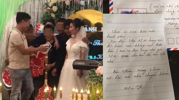 Xôn xao chuyện chàng trai Lào Cai phi 150km đến mừng cưới bằng... phong bì rỗng vì thẻ rút tiền gãy
