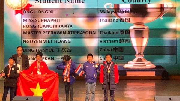 Lào Cai: Một học sinh THCS đoạt Huy chương Vàng cuộc thi Olymlic Toán quốc tế ASMO.
