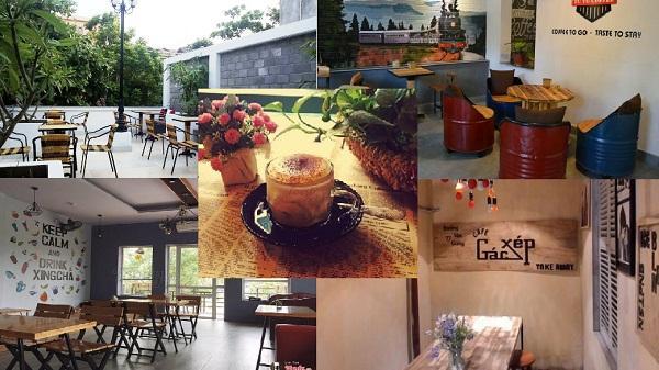 Ngây ngất với những quán café nhỏ xinh, có view cực đẹp giữa lòng thành phố Ninh Bình
