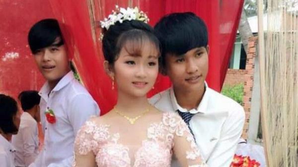 Xôn xao thông tin cặp đôi cô dâu 12, chú rể 14 từng gây bão mạng đã đường ai nấy đi sau lễ đính hôn đình đám 1 năm trước