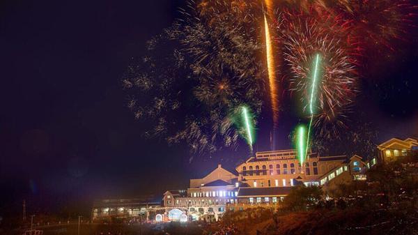 Sẽ bắn pháo hoa tại Lễ công bố thành lập thị xã Sa Pa (Lào Cai)