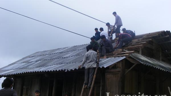 Bắc Hà (Lào Cai) hỗ trợ 6 hộ dân di chuyển ra khỏi vùng nguy cơ sạt lở
