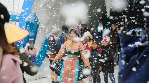 Chưa trải nghiệm Lễ hội mùa đông Fansipan (Lào Cai) thì… phí cả mùa băng giá