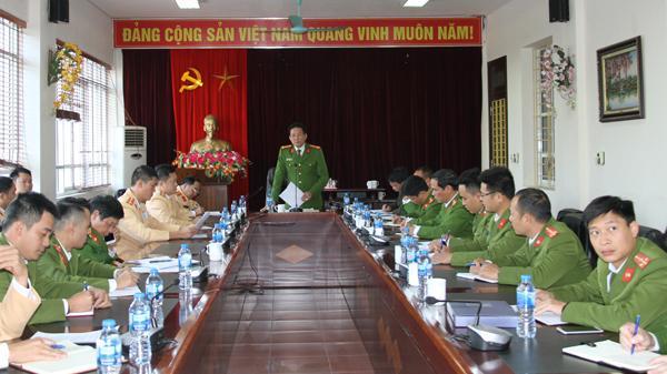 Công an tỉnh Lào Cai thành lập tổ công tác đặc biệt