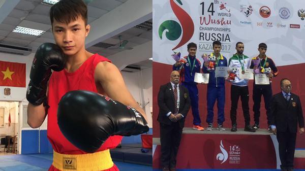 Trò chuyện với võ sĩ trẻ Ninh Bình lập nên kỳ tích cho Việt Nam sau 16 năm khi vô địch Tán thủ thế giới
