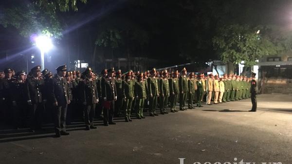 Công an thành phố Lào Cai mở đợt cao điểm tấn công, trấn áp tội phạm dịp tết Nguyên đán 2020