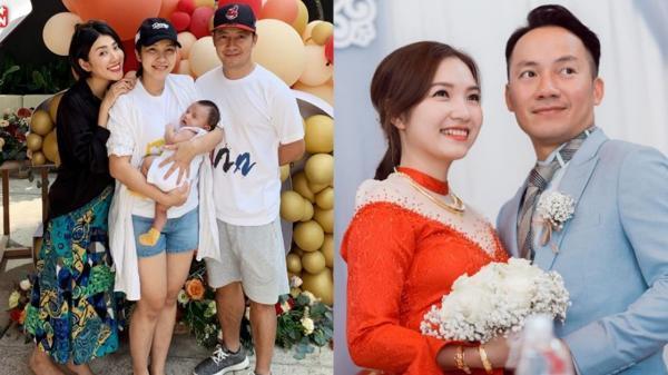 Cận cảnh gương mặt con trai của rapper Tiến Đạt và vợ kém 10 tuổi