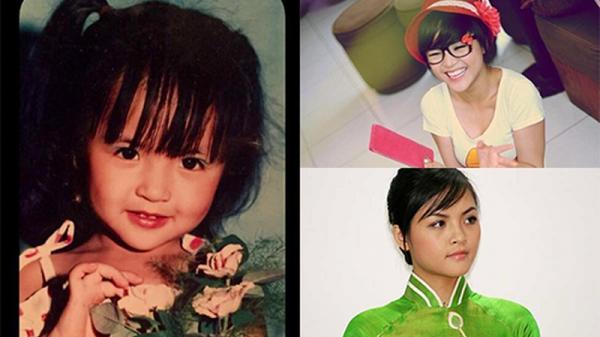 Soi hình ảnh hồi nhỏ và chưa nổi tiếng của 'My Sói' Thu Quỳnh