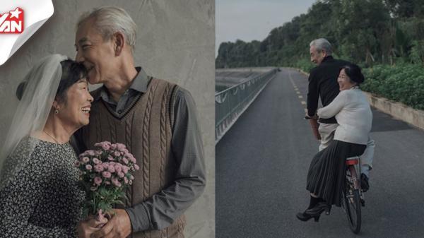 """Bộ ảnh """"đưa em về thanh xuân"""" của đôi vợ chồng già gây thương nhớ CĐM"""
