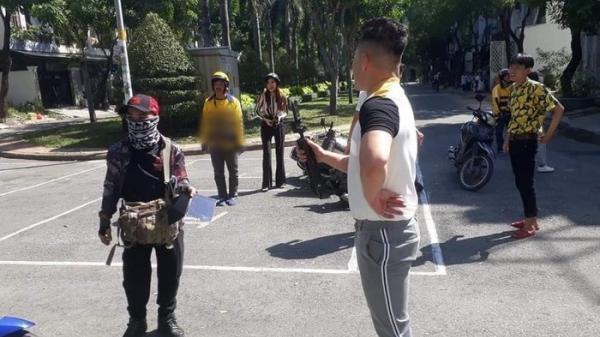 Đoàn phim của Trấn Thành gây hiểu lầm khi quay cảnh bắt cướp