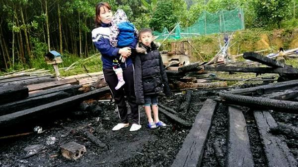 Yên Bái: Hỏa hoạn xảy ra đúng ngày đầu năm mới