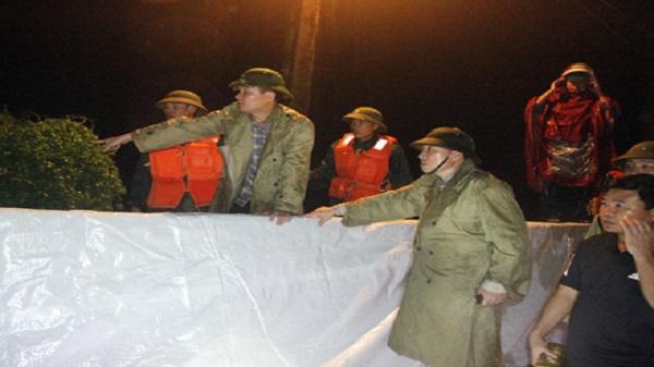 Ninh Bình: Quân dân đồng lòng, kiên cường chống lũ