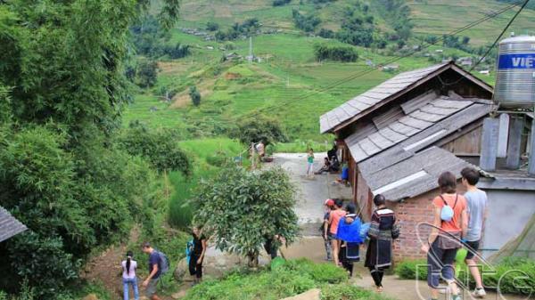 Lịch trình di chuyển của bệnh nhân 56 (BN56) tại Lào Cai