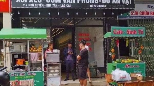 Thành phố Lào Cai xử phạt nghiêm cơ sở kinh doanh hàng ăn vẫn mở cửa đón khách