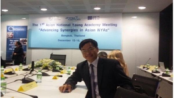 Tiến sĩ y khoa quê Ninh Bình được bầu vào Viện Hàn lâm Khoa học trẻ toàn cầu