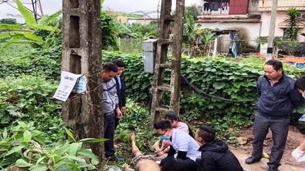 Ninh Bình: Đi hái rau, một người đàn ông bị điện giật chết thảm