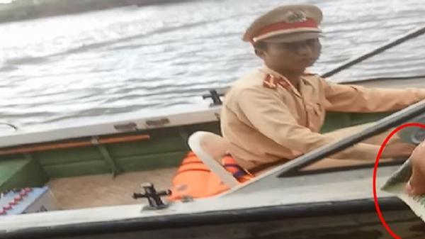 Cận cảnh mãi lộ trên sông: Lãnh đạo CSGT tỉnh Ninh Bình hứa xử nghiêm cán bộ sai phạm