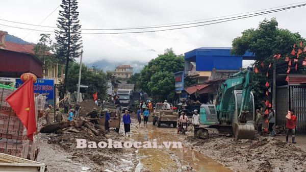 Lào Cai: Cận cảnh Minh Lương tan hoang sau lũ dữ