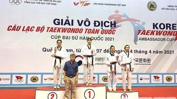 Sơn La đoạt 4 Huy chương Vàng tại Giải vô địch các Câu lạc bộ Taekwondo toàn quốc 2021