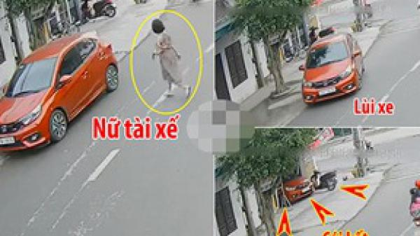 Ninh Bình: Đạp nhầm chân ga, nữ tài xế tông sập cổng nhà dân