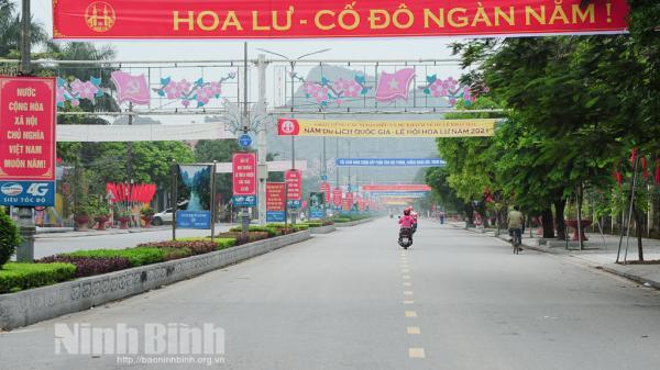 Ninh Bình: Bắt buộc phải khai báo y tế mới được tham dự Lễ Khai mạc Năm Du lịch Quốc gia - Lễ hội Hoa Lư