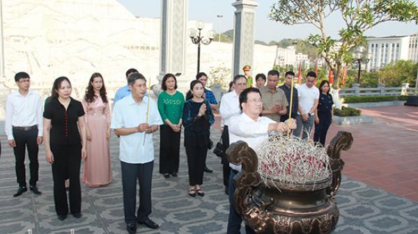 Nguyên Phó Thủ tướng Chính phủ Trịnh Đình Dũng thăm tỉnh Sơn La