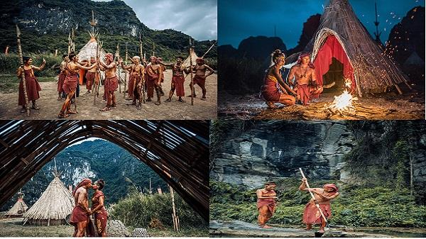 """Bộ ảnh cưới theo phong cách thổ dân độc đáo của cặp đôi Ninh Bình khiến giới trẻ """"đã mắt"""""""